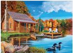 Autumn Cabin, and other cheap jigsaw puzzles