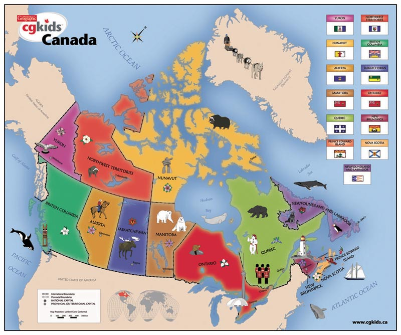 Piece Canadian Map Puzzle For Kids Puzzle Warehouse Blog For - Map of canada to label