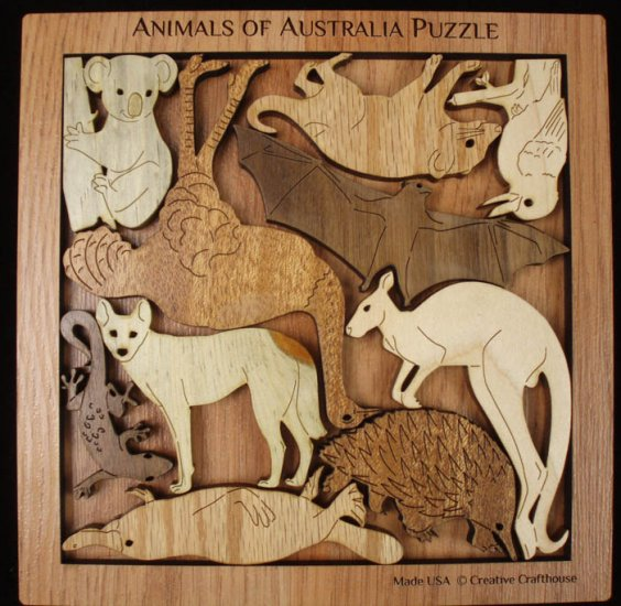 Australia-Animals-Shape-Puzzle-Creative-Crafthouse