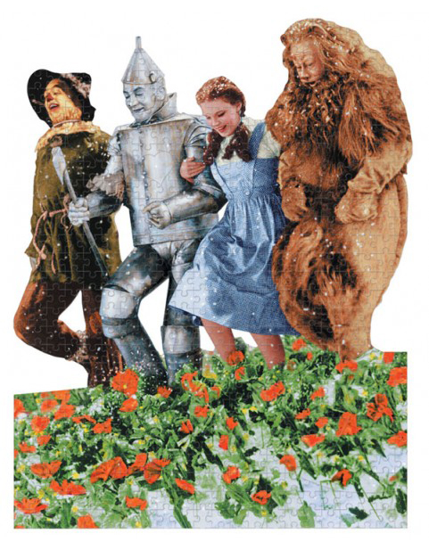 Dorthy, Tin Man, Scarecrow, Lion from Wizard of Oz