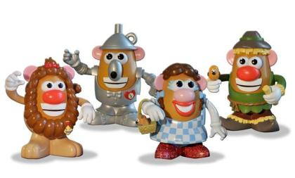 Wizard of Oz Potato Heads